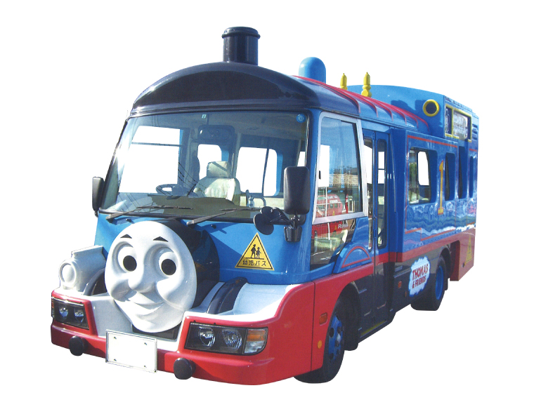 car bus thomas locomotive