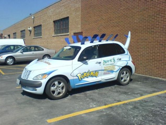pokemon car voiture lugia
