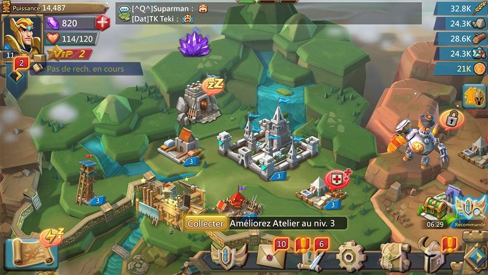 présentation jeu lords mobile