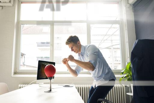 punching ball de table gamer accessoire