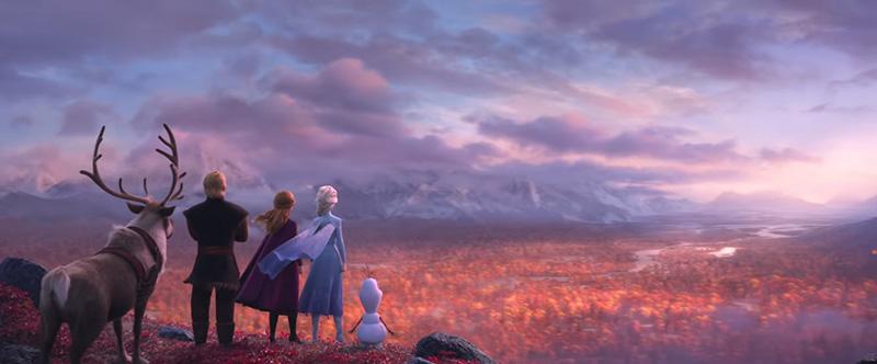 reine des neiges 2 automne elsa et anna
