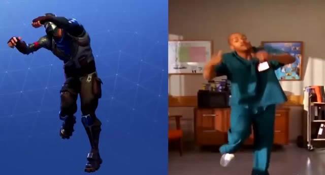 scrubs serie danse fortnite proces epic