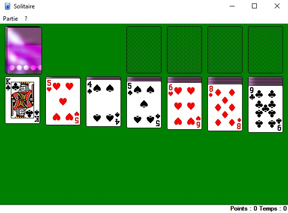 solitaire classic microsoft windows xp