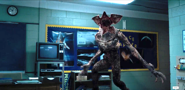 strange things saison 4 demogorgon russie scene