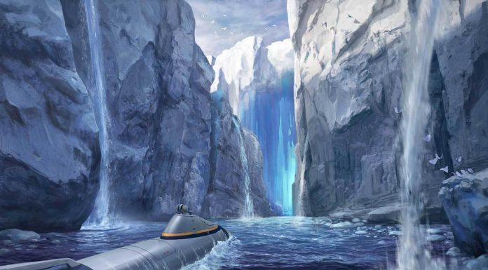 sub zero subnautica new concept art canyon