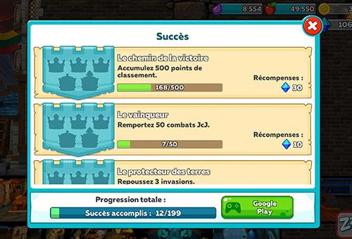 succès hustle castle