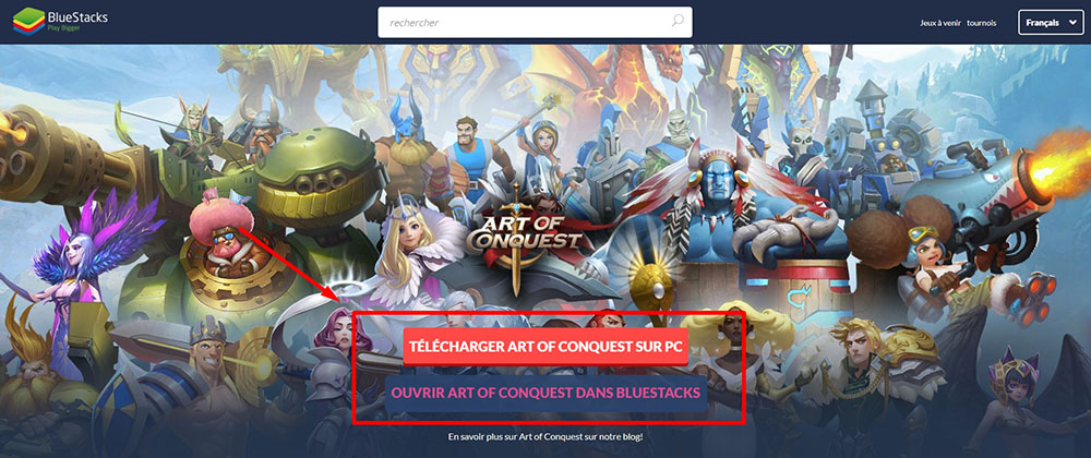 telecharger art of conquest pc