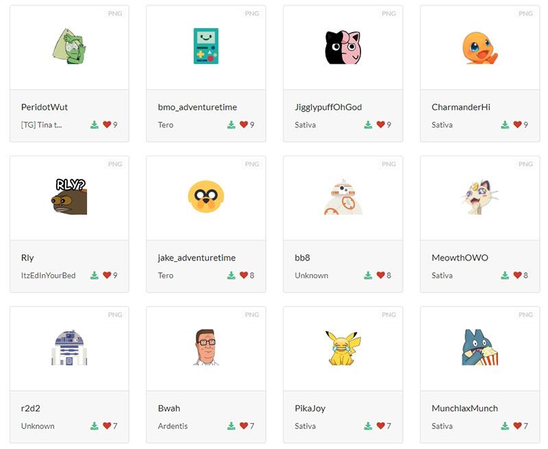 telecharger emoji discord