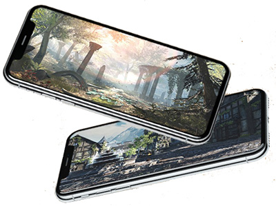 tes blades screenshot smartphone apple reveal
