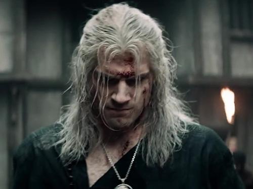 the witcher acteur henry cavill geralt trailer