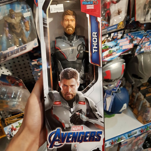 thor figurine espace avengers endgame