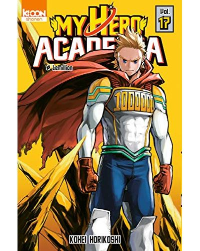 tome 17 my hero academia roman kioon