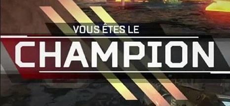 top 1 champion apex legends