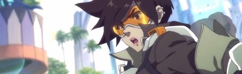 tracer fanart anime overwatch
