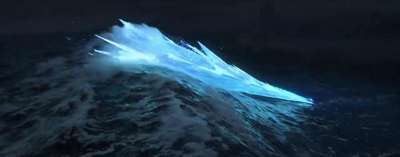 trailer la reine des neiges 2 vagues elsa
