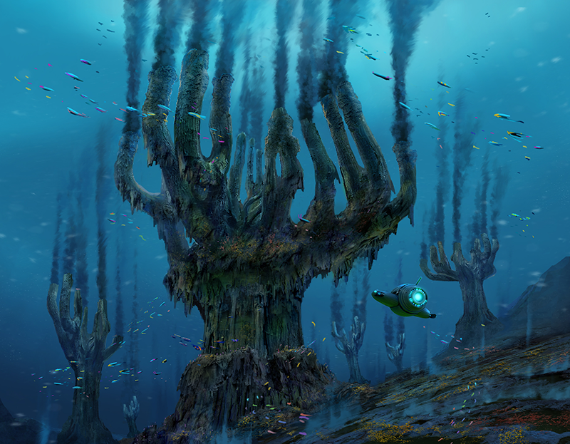 tree spires subnautica below zero extension concept