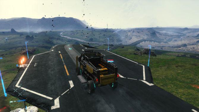 véhicule camion death stranding