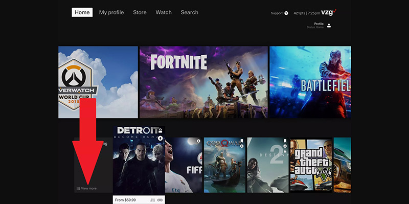 verizon cloud gaming streaming screenshots info