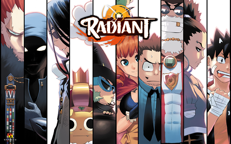 le-manga-francais-radiant-sera-adapte-en-anime