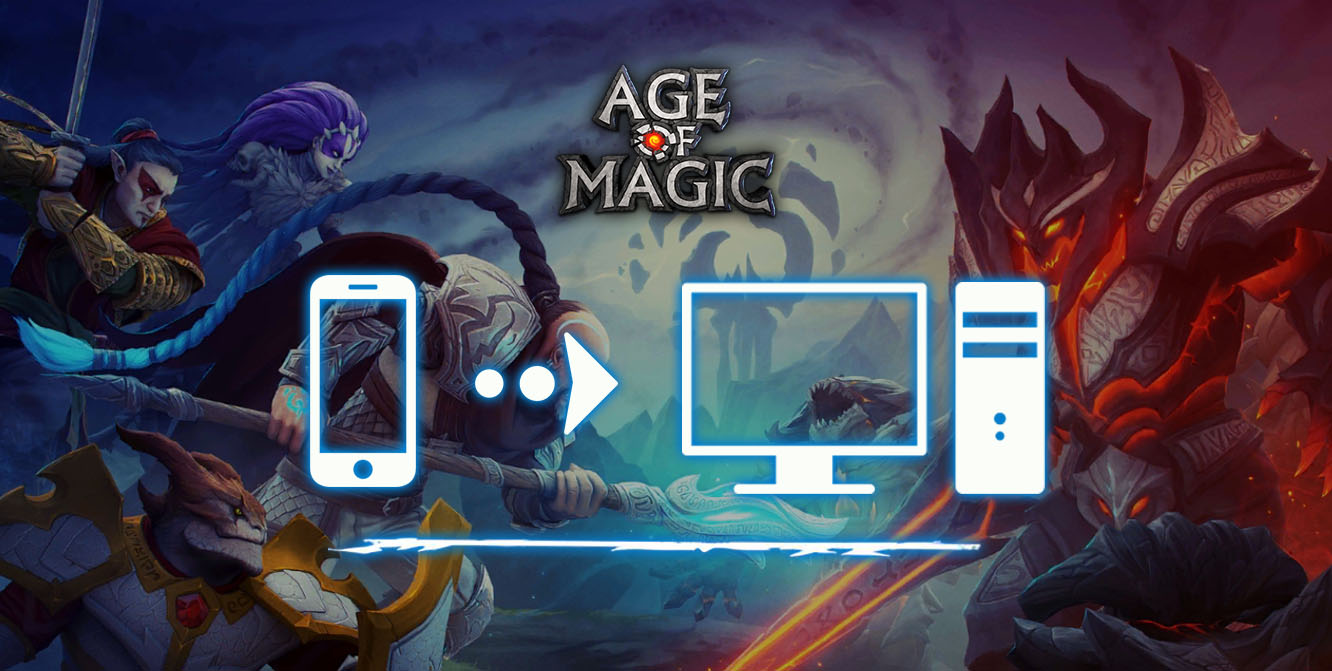 jouer sur pc à Age of Magic