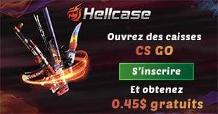 Ouvrir des caisses csgo sur Hellcase