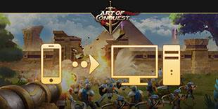 jouer sur pc à Art of Conquest
