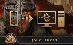jouer sur pc à King of Avalon