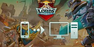 jouer sur pc à Lords Mobile