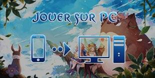 jouer sur pc à Tales of Wind